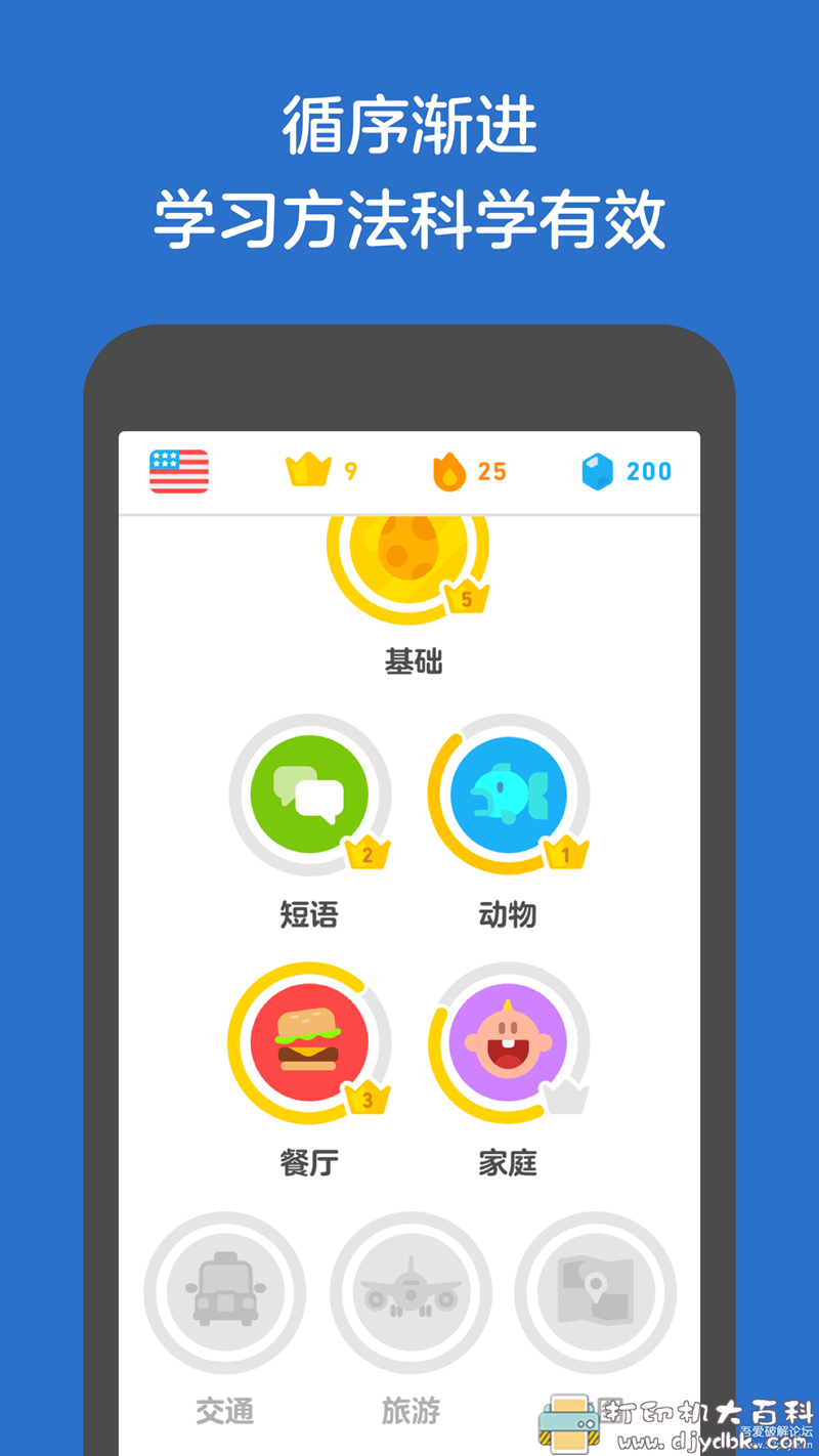 [Android]多邻国语言 v4.70.3直装高级版,英法西葡等众多语言免费学!图片 No.2