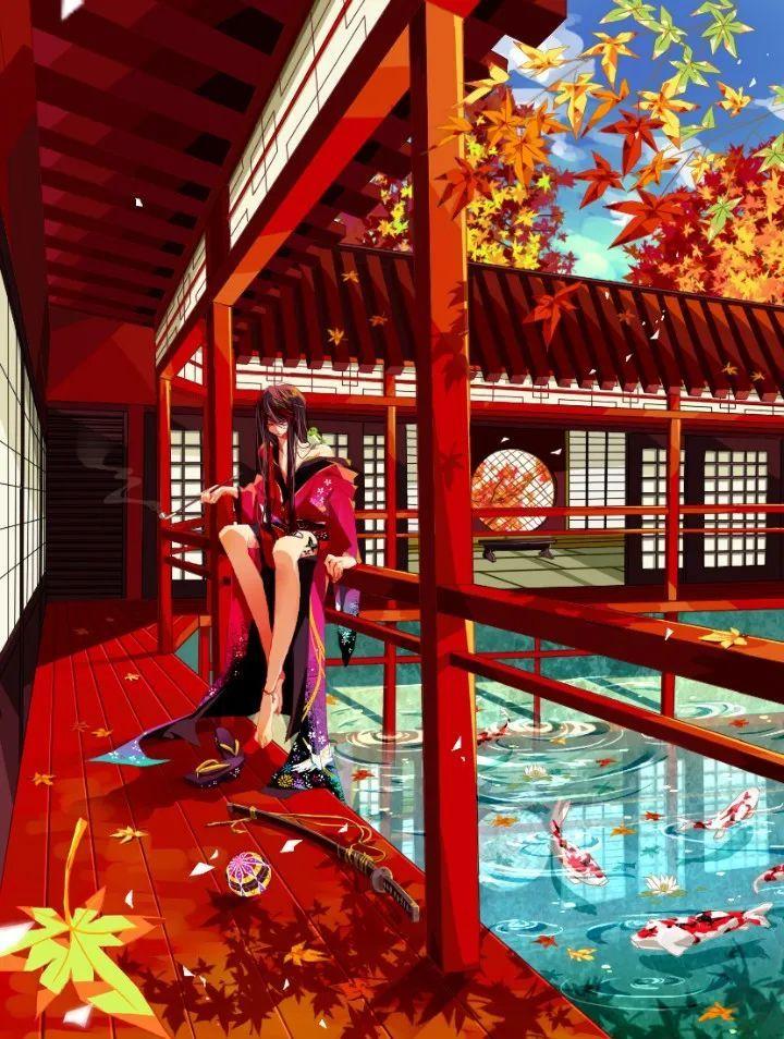 P站美图推荐——锦鲤特辑_图片 No.11