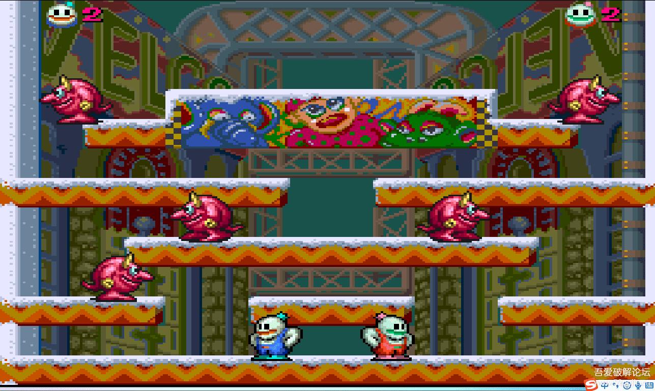 PC休闲小游戏:雪人兄弟,很有趣味,喜欢的拿走 配图 No.3