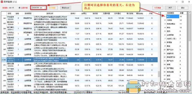 [Windows]股票复盘小工具。希望股市长虹 配图 No.1