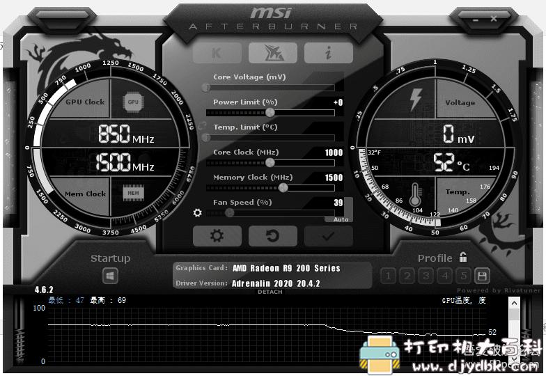 [Windows]微星小飞机,监控电脑性能(温度,帧率等) 配图 No.1