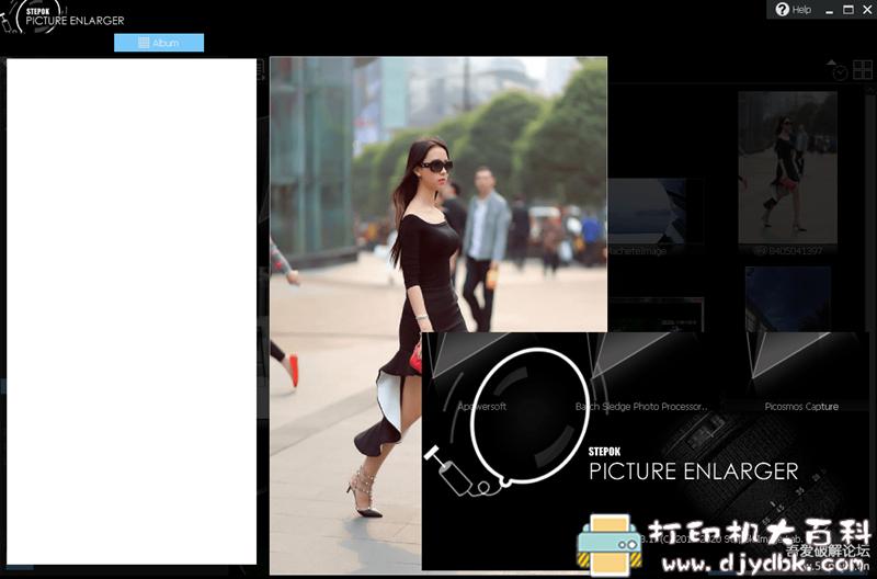 [Windows]照片清晰放大工具 Picture Enlarger 3.1 配图