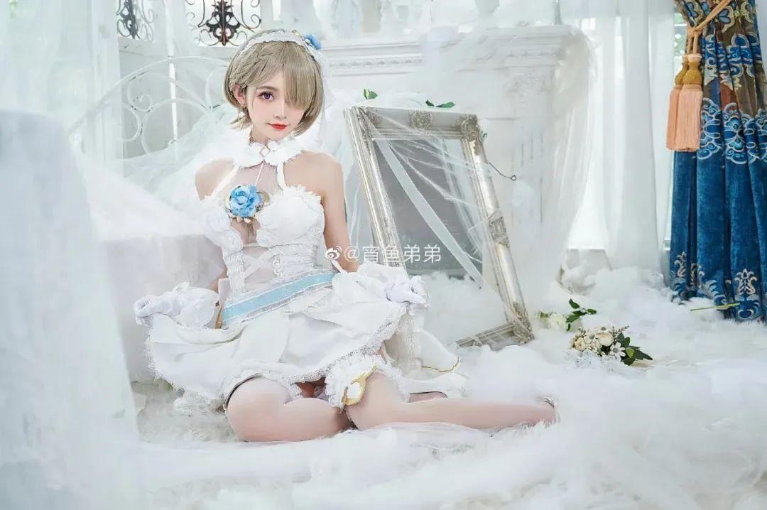 Cosplay-《崩坏3》丽塔(@宵鱼弟弟),这花嫁也太美了吧_图片 No.3