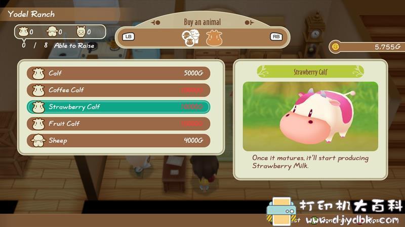 PC游戏分享:【steam价值¥280新游】《牧场物语:重聚矿石镇》中文免安装版 配图 No.6