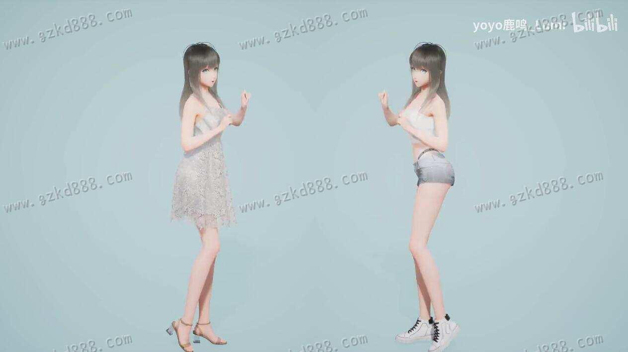 B站这位虚拟美少女up主@yoyo鹿鸣_Lumi,5支视频收获50万粉,到底有多丝滑? - [mn233.com] No.3