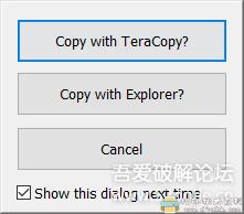 [Windows]文件快速复制工具 TeraCopy v3.4 beta 配图 No.6