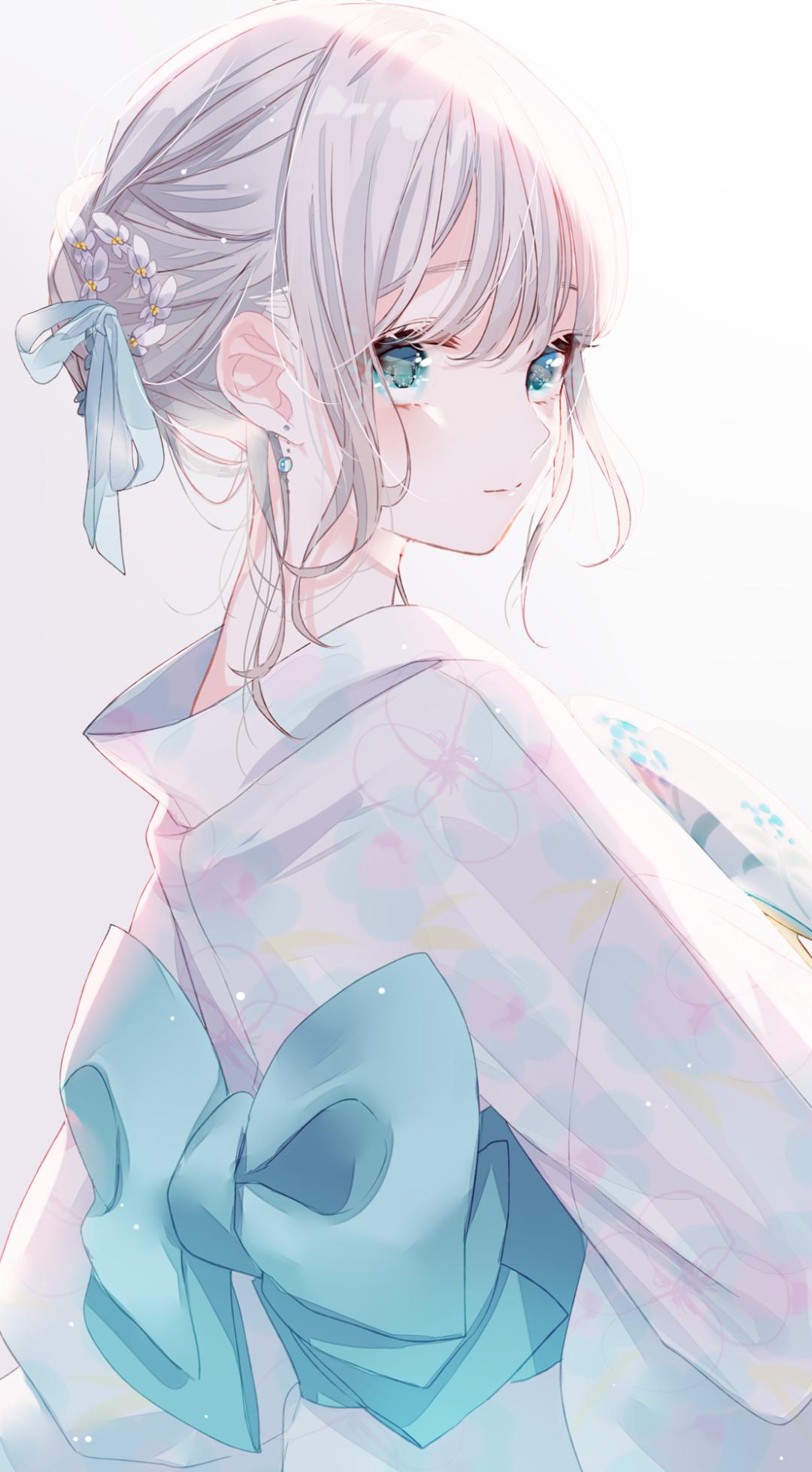 每日动漫美图 554期,温柔雅质和服少女_图片 No.1