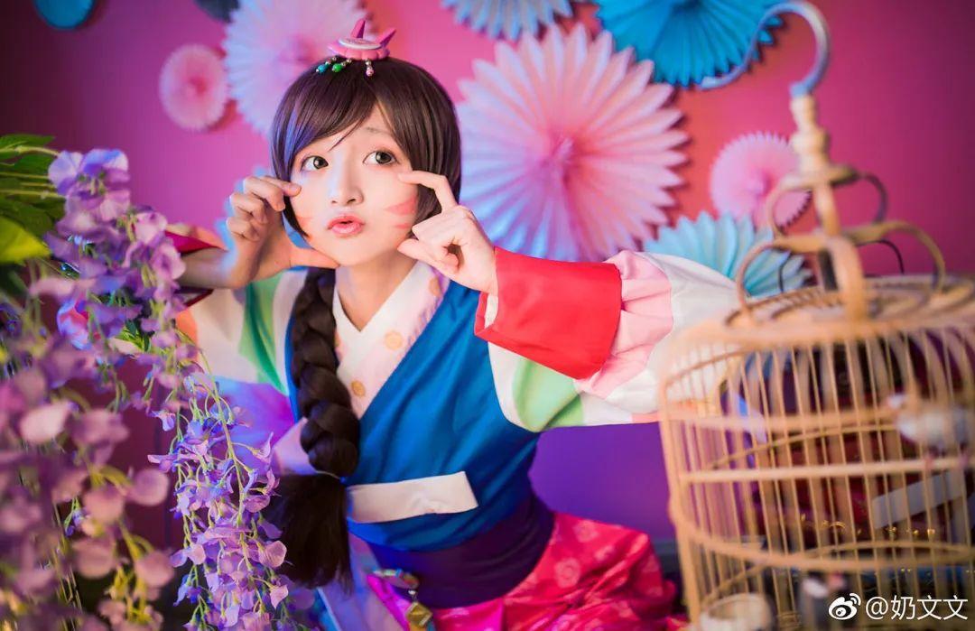 cosplay – 《守望先锋》D.VaA新皮肤,这是汉服小短裙?_图片 No.1