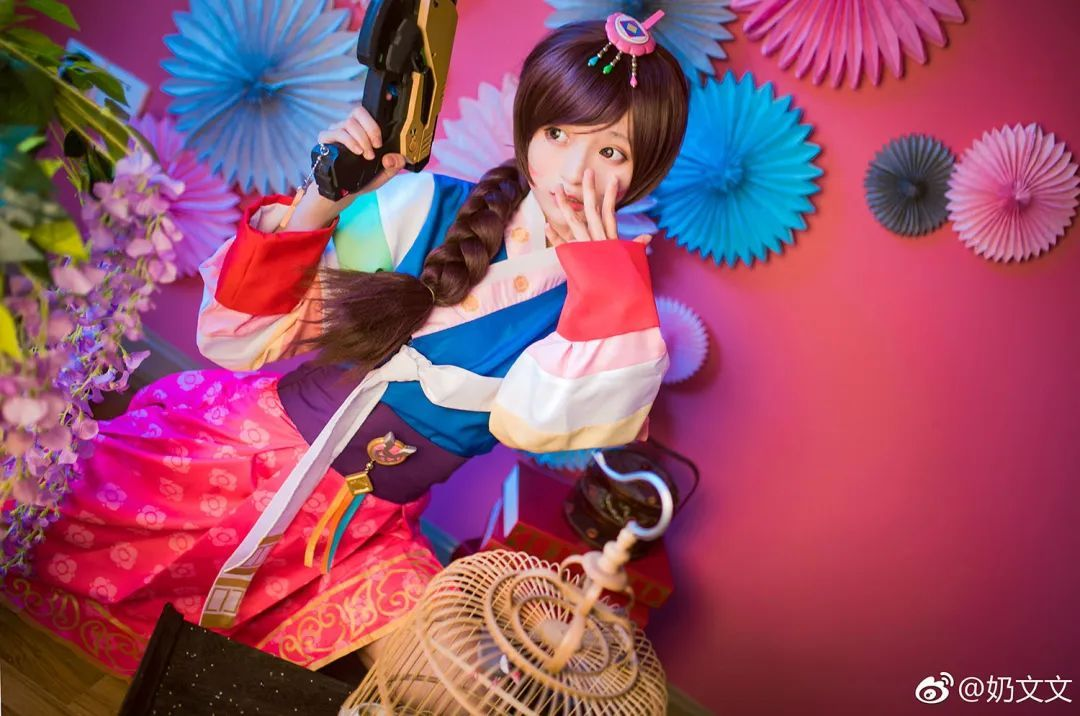 cosplay – 《守望先锋》D.VaA新皮肤,这是汉服小短裙?_图片 No.9