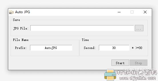 [Windows]自动截屏截图工具 Auto JPG单文件便携,自定义时间间隔 配图 No.1