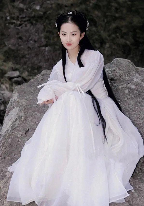 写真 – 古装白裙刘亦菲,仙女下凡啊!_图片 No.6
