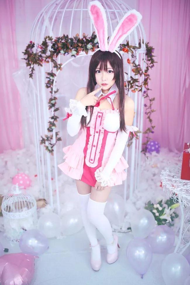 cosplay – 绊爱酱 cn:一色_Sena,兔耳朵太有灵性了_图片 No.2
