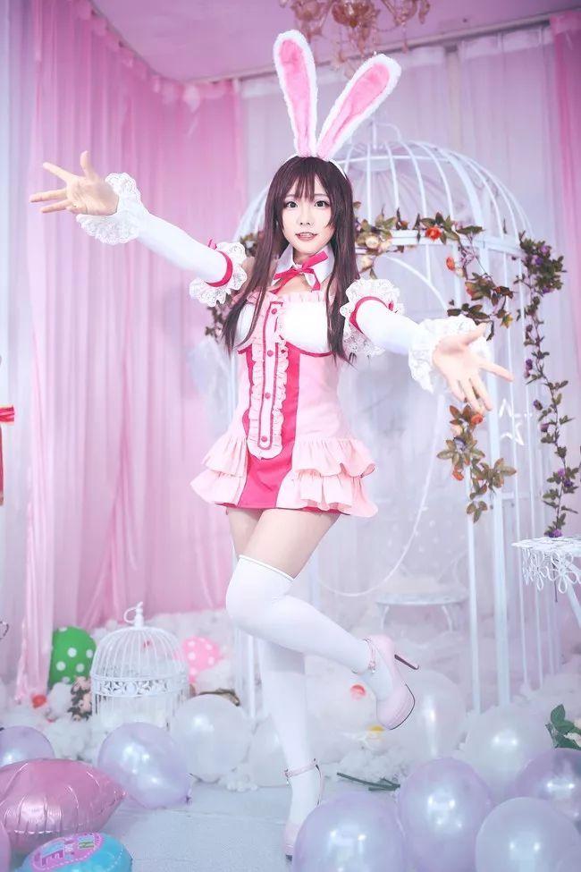 cosplay – 绊爱酱 cn:一色_Sena,兔耳朵太有灵性了_图片 No.5