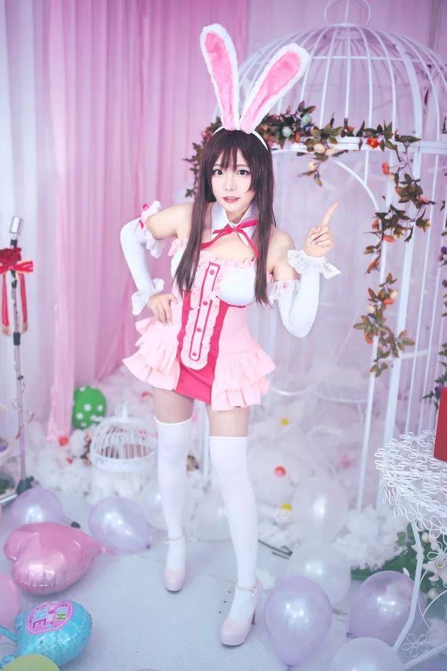 cosplay – 绊爱酱 cn:一色_Sena,兔耳朵太有灵性了_图片 No.8