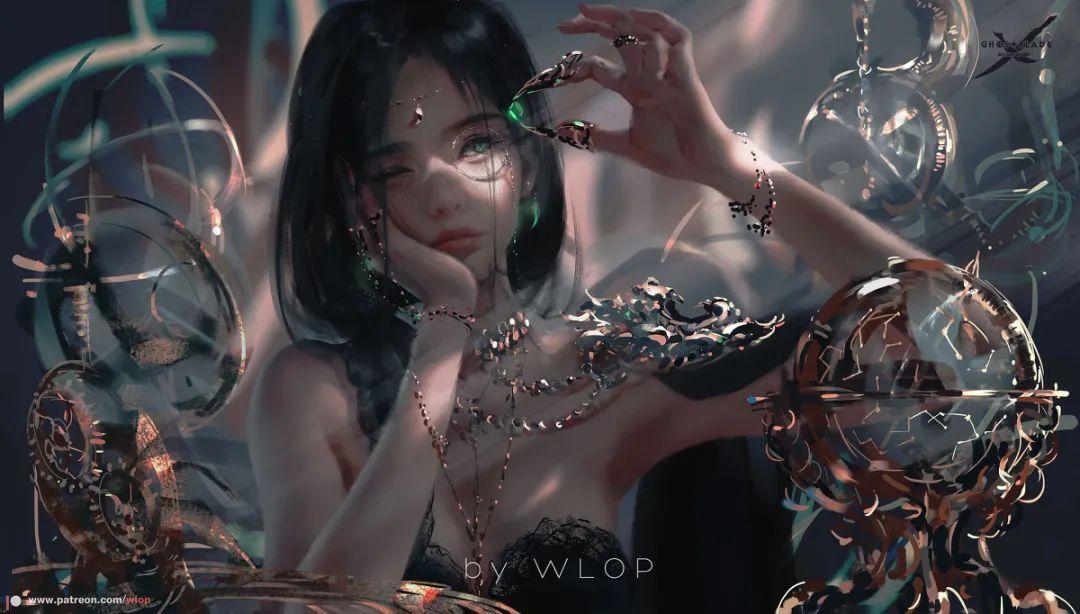 原画 | P站画师wlop作品欣赏,3D画风少女真实感太强了 - [leimu486.com] No.10