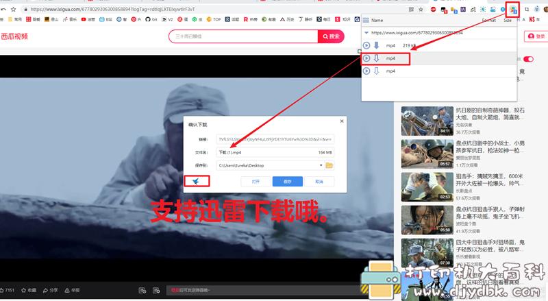 [Windows]免费嗅探下载网页视频、音乐的浏览器插件 VDP: Best Video Downloader插件 配图 No.1