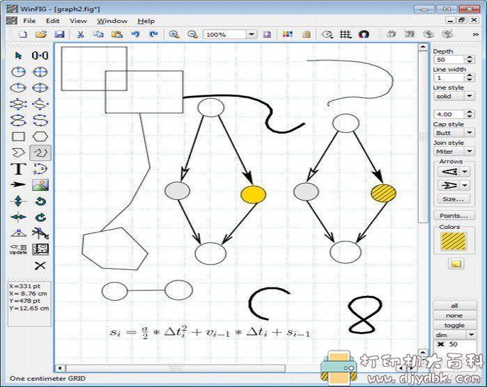[Windows]cad矢量图生成器 WinFIG(CAD矢量图形编辑器)官方正式版V7.8 配图 No.1