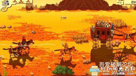 PC游戏分享:像素类西部牛仔风格游戏-Westerado(西部正义)中文版 配图 No.1
