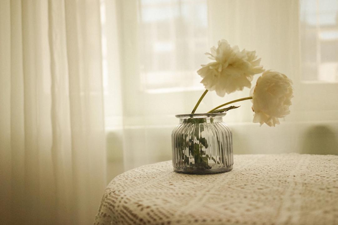 妹子摄影 – 少女白色纱裙可以朦胧美,也可以贴身内衣躲窗帘后小性感_图片 No.18