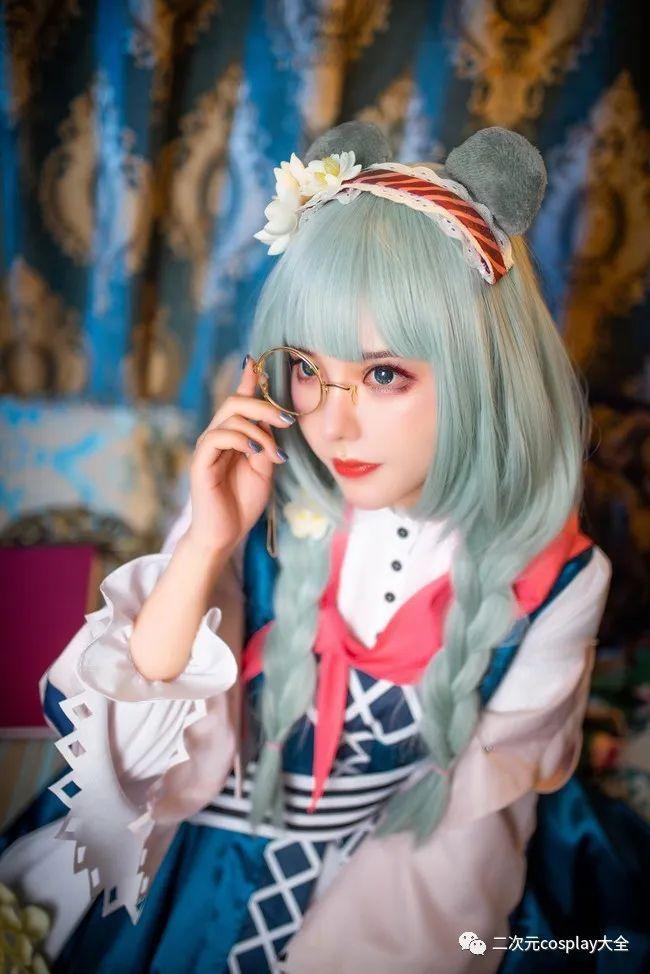 cosplay – 《明日方舟》真理(@敲可爱哒nico酱),华丽精致画面感,好看有范的女孩子 - [leimu486.com] No.10