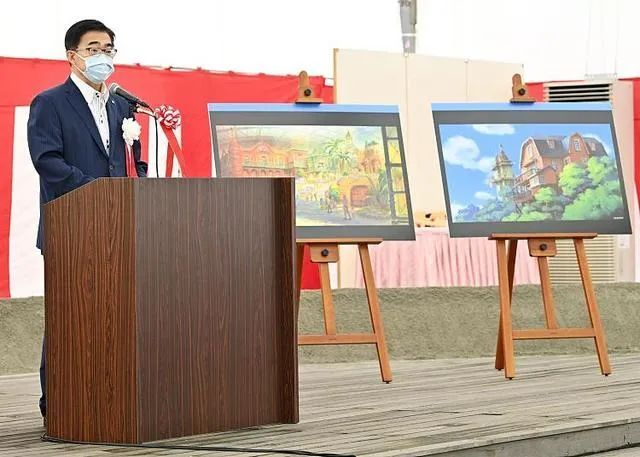 迪士尼慌不慌?吉卜力官方主题公园举行开工仪式,预计2022年开园!_图片 No.1