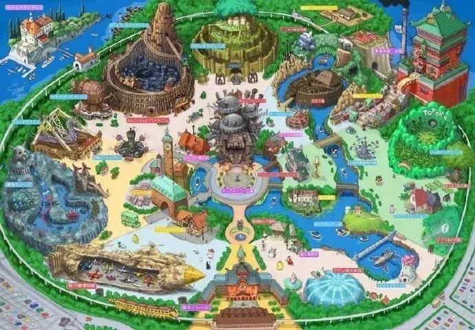 迪士尼慌不慌?吉卜力官方主题公园举行开工仪式,预计2022年开园!_图片 No.11