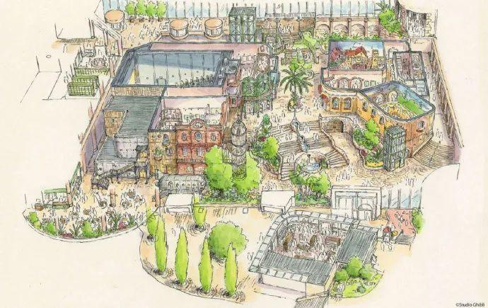 迪士尼慌不慌?吉卜力官方主题公园举行开工仪式,预计2022年开园!_图片 No.12