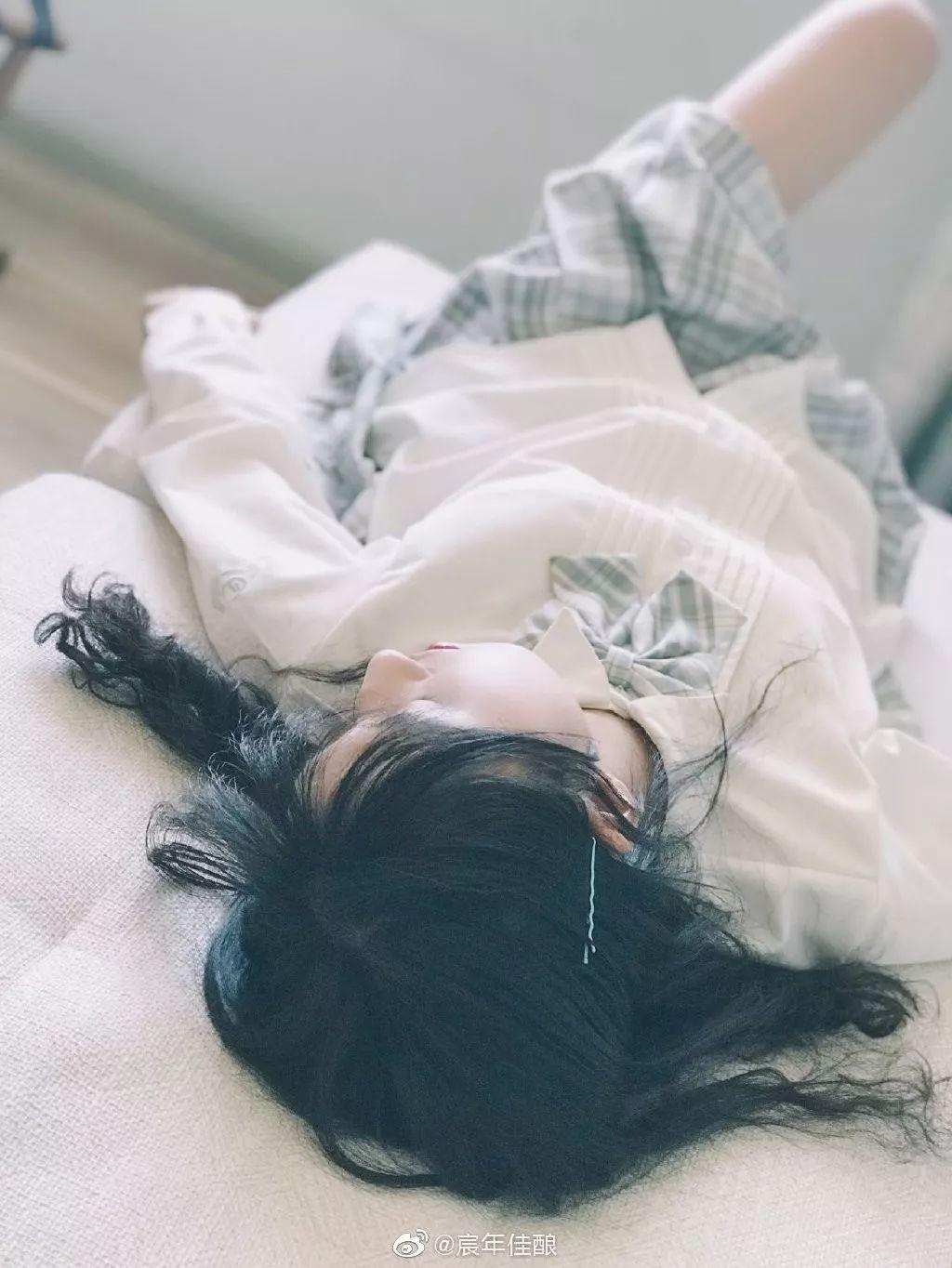 妹子摄影 – JK制服白白白少@@宸年佳酿_图片 No.8