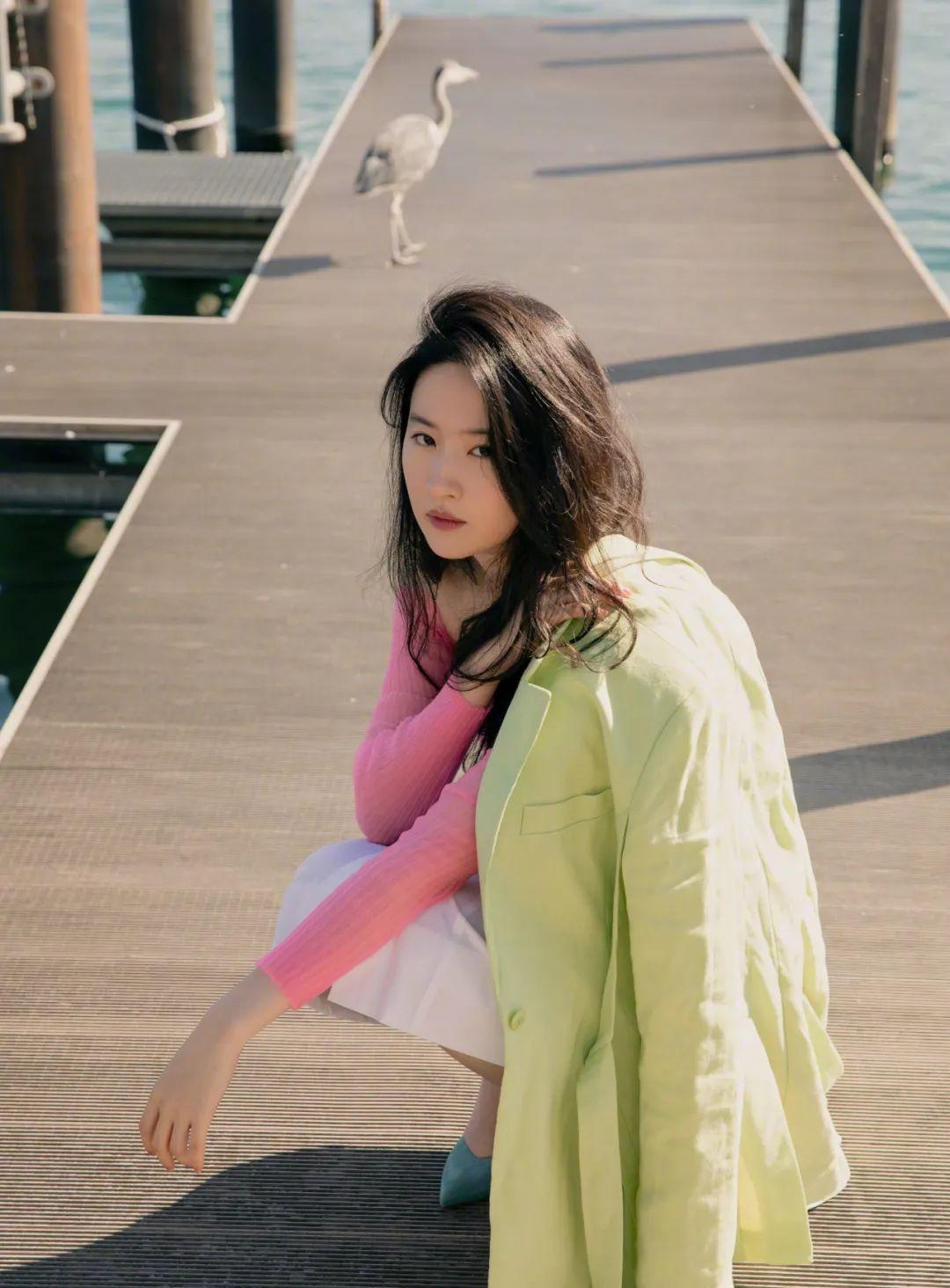 妹子写真 – 刘亦菲和佟丽娅,这个年纪的知性美!_图片 No.12
