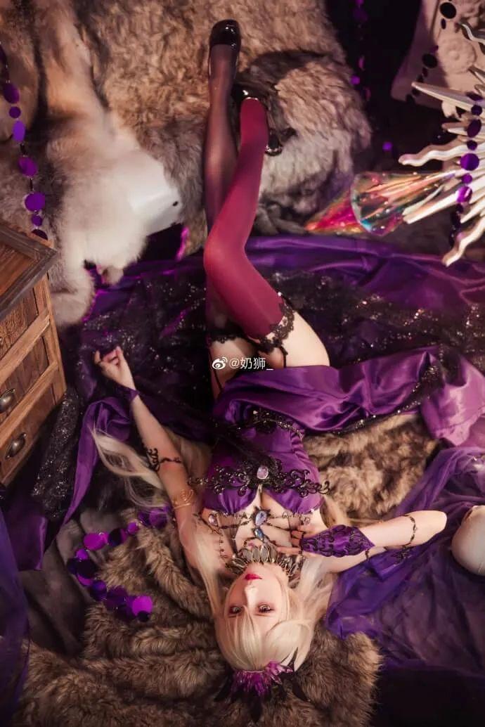 cosplay – FGO黑枪呆!@奶狮_,绝代女王晚礼服,让你无法拒绝! - [mn233.com] No.2