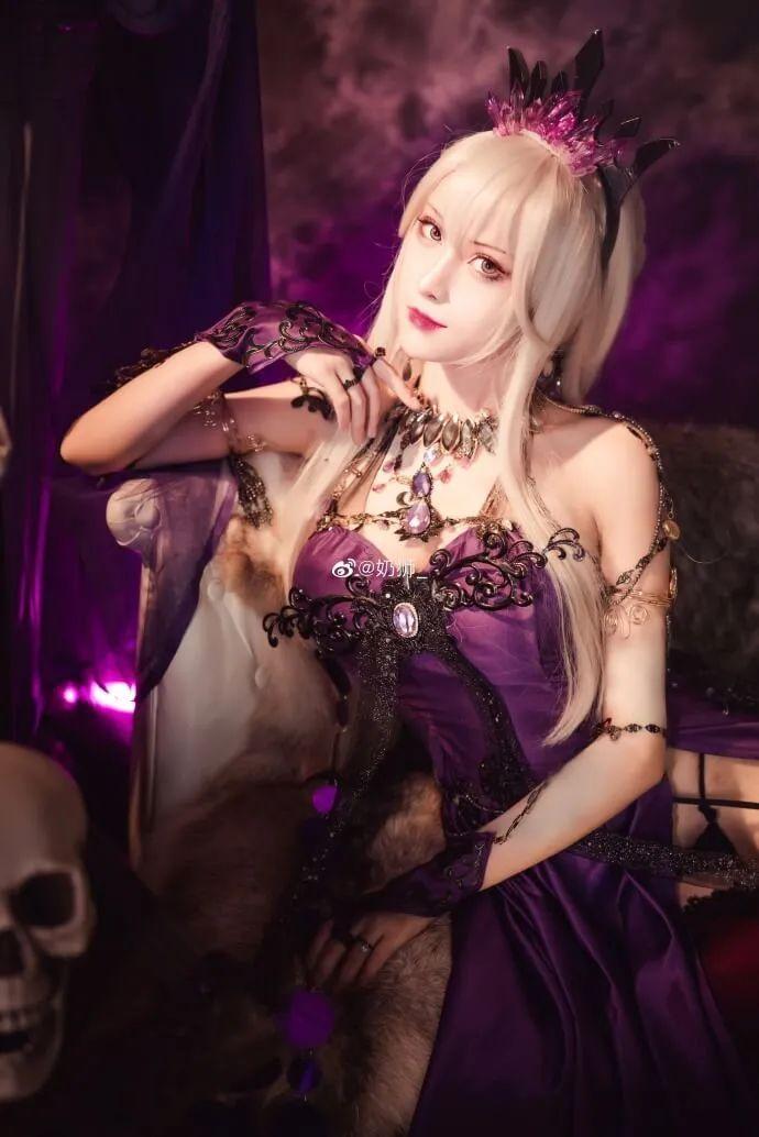 cosplay – FGO黑枪呆!@奶狮_,绝代女王晚礼服,让你无法拒绝! - [mn233.com] No.4