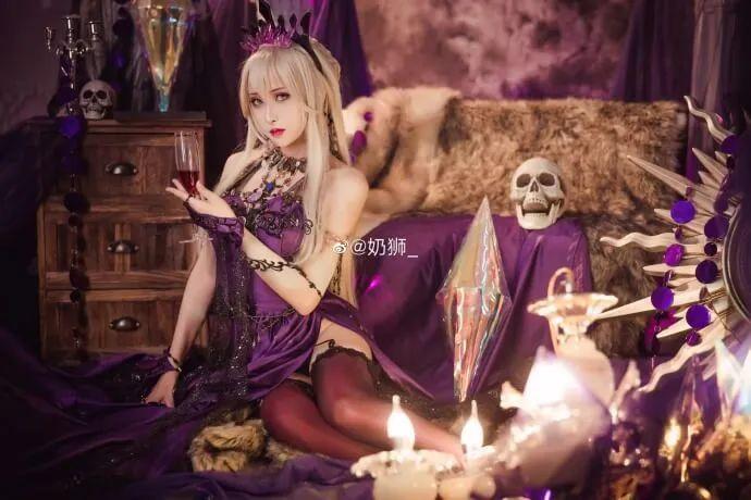 cosplay – FGO黑枪呆!@奶狮_,绝代女王晚礼服,让你无法拒绝! - [mn233.com] No.7