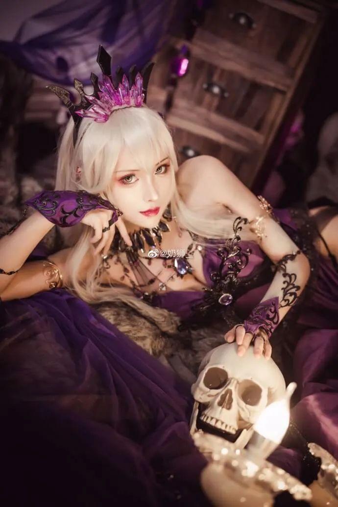 cosplay – FGO黑枪呆!@奶狮_,绝代女王晚礼服,让你无法拒绝! - [mn233.com] No.8