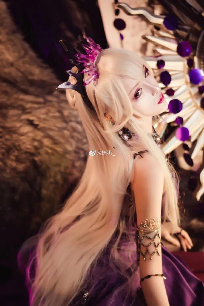 cosplay – FGO黑枪呆!@奶狮_,绝代女王晚礼服,让你无法拒绝! - [mn233.com] No.9