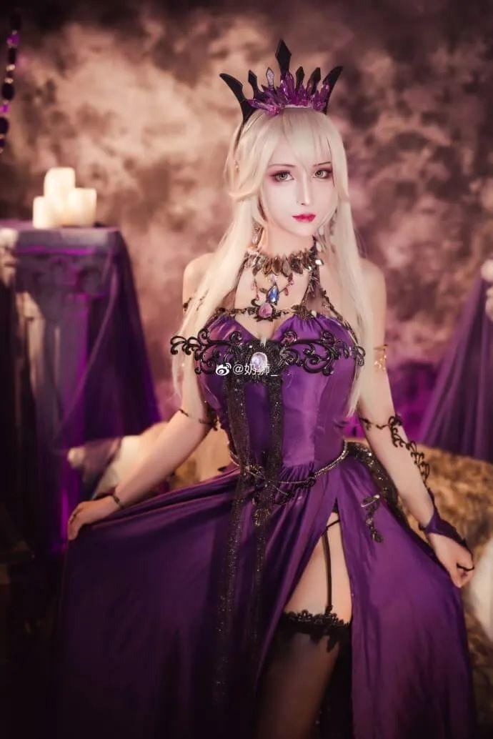 cosplay – FGO黑枪呆!@奶狮_,绝代女王晚礼服,让你无法拒绝! - [mn233.com] No.10