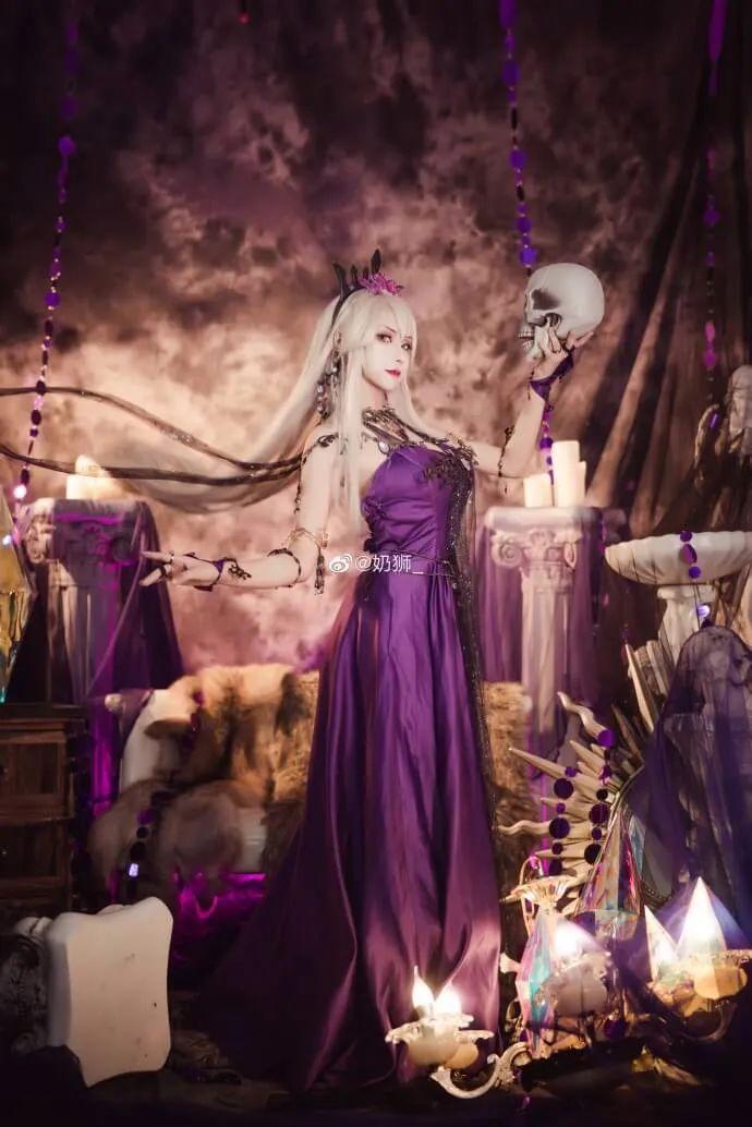cosplay – FGO黑枪呆!@奶狮_,绝代女王晚礼服,让你无法拒绝! - [mn233.com] No.11