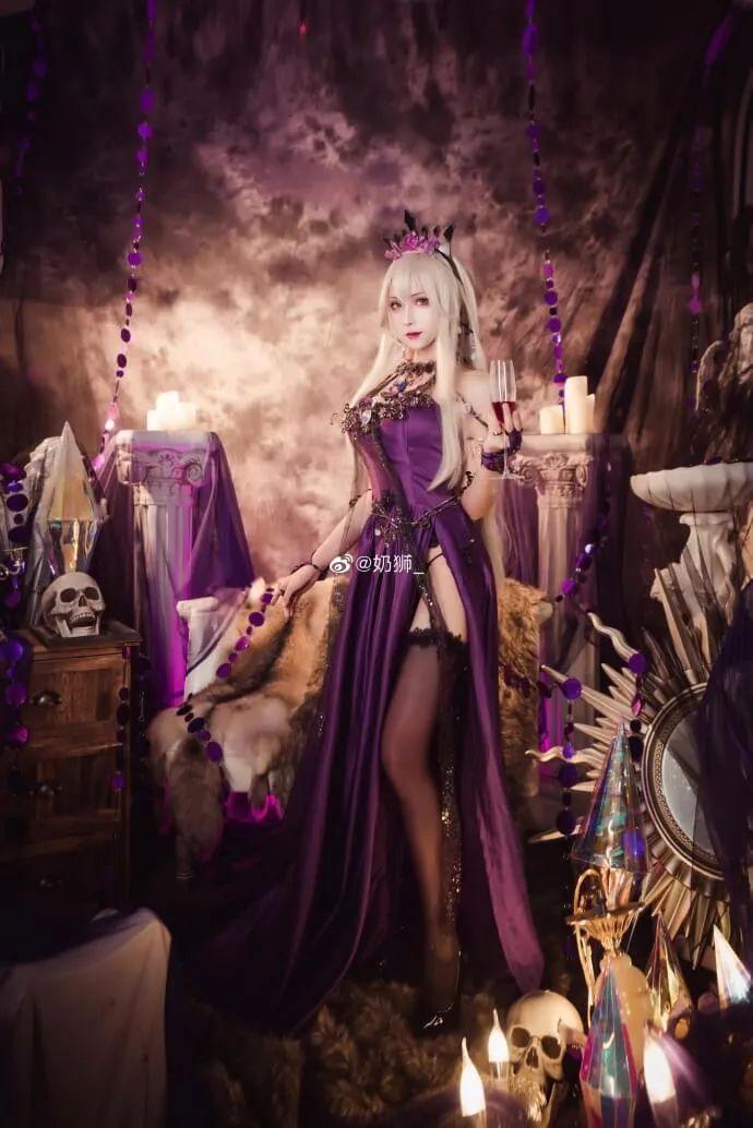 cosplay – FGO黑枪呆!@奶狮_,绝代女王晚礼服,让你无法拒绝! - [mn233.com] No.13