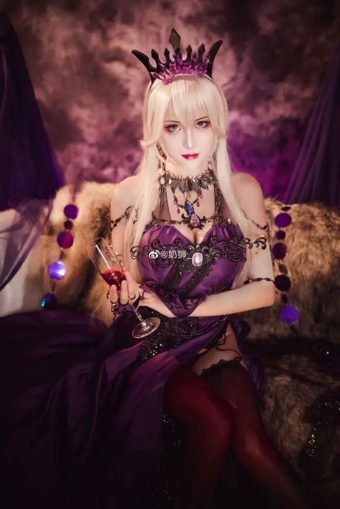 cosplay – FGO黑枪呆!@奶狮_,绝代女王晚礼服,让你无法拒绝! - [mn233.com] No.15