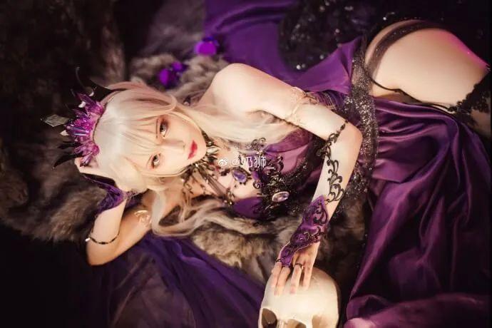 cosplay – FGO黑枪呆!@奶狮_,绝代女王晚礼服,让你无法拒绝! - [mn233.com] No.16