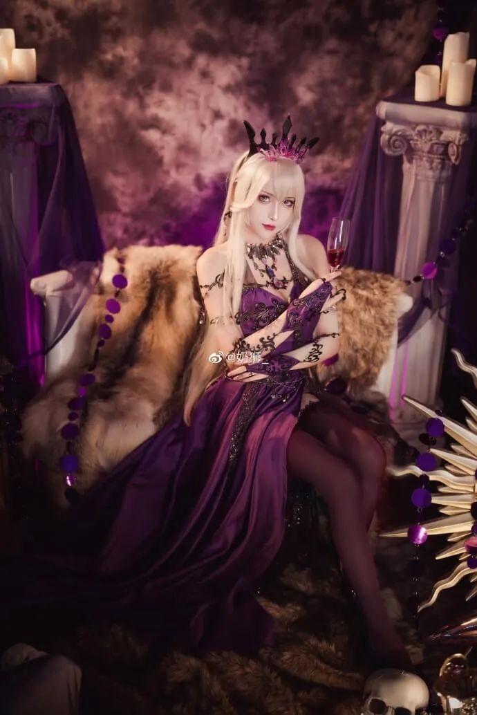 cosplay – FGO黑枪呆!@奶狮_,绝代女王晚礼服,让你无法拒绝! - [mn233.com] No.17