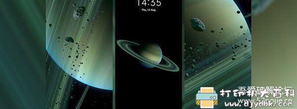[Android]MIUI 12土星、火星、地球超级壁纸 提取版下载 配图