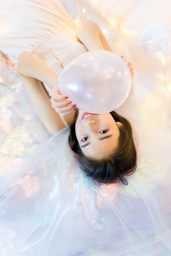 妹子摄影 – 小姐姐睡衣写真,还透着梦幻的味道_图片 No.2