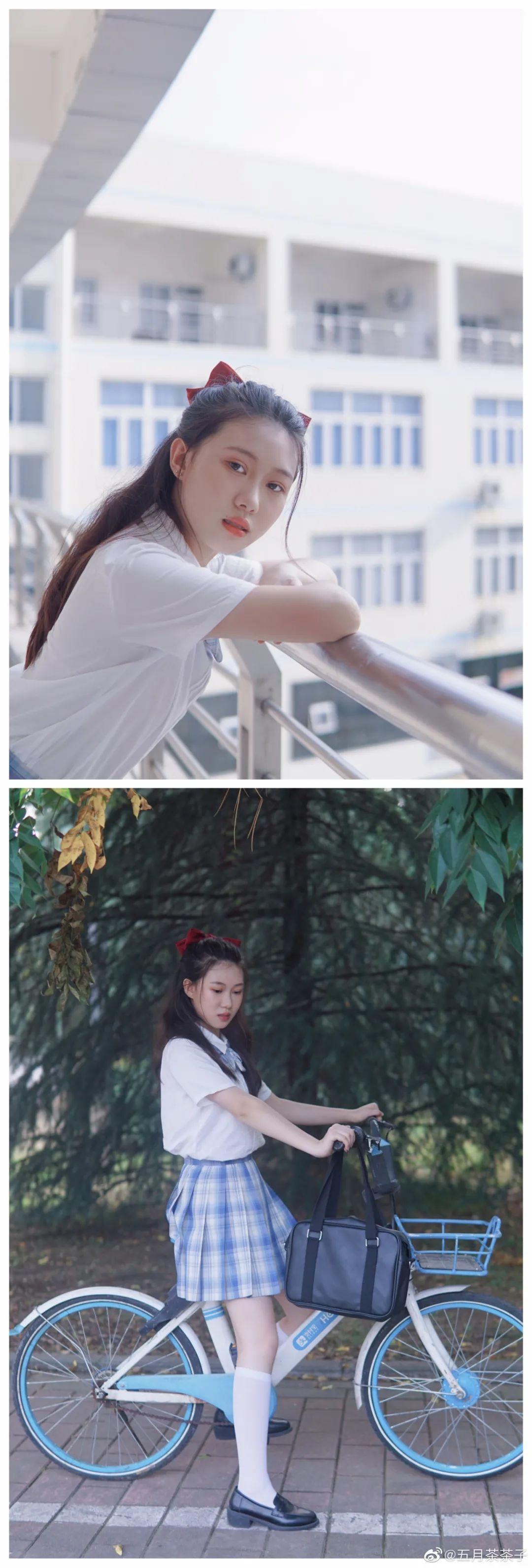 妹子摄影 – JK制服白丝学妹_图片 No.7