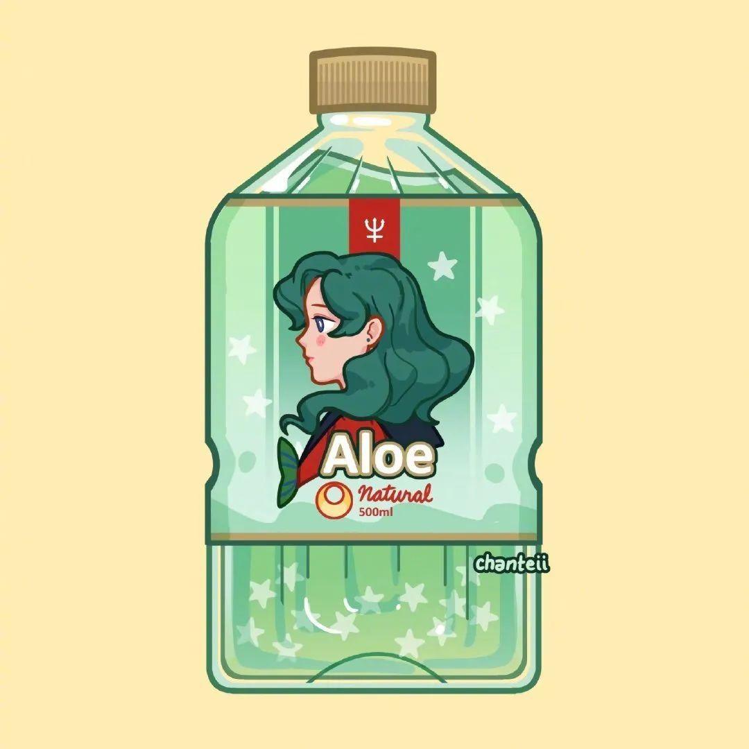 8月23日,日推P站二次元美图!瓶身上的美少女战士_图片 No.4
