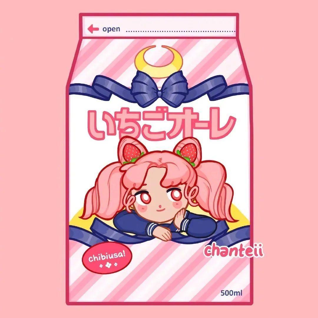 8月23日,日推P站二次元美图!瓶身上的美少女战士_图片 No.5