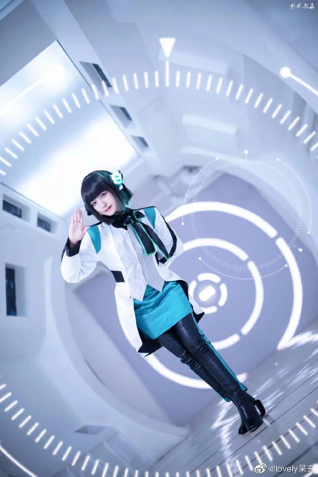 cosplay -《假面骑士零一》伊兹(@lovely呆玄 )_图片 No.7
