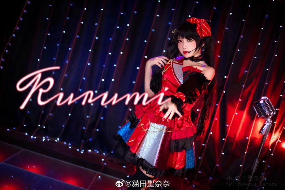 [狂三cosplay]《约会大作战》时崎狂三(cn:貓田聖奈奈),这只三三过于甜美_图片 No.4