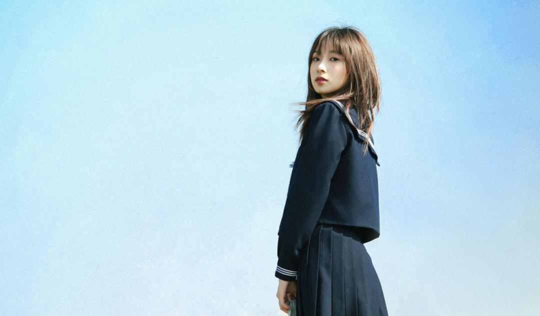 妹子摄影 – JK制服少女比樱花更绚烂_图片 No.5