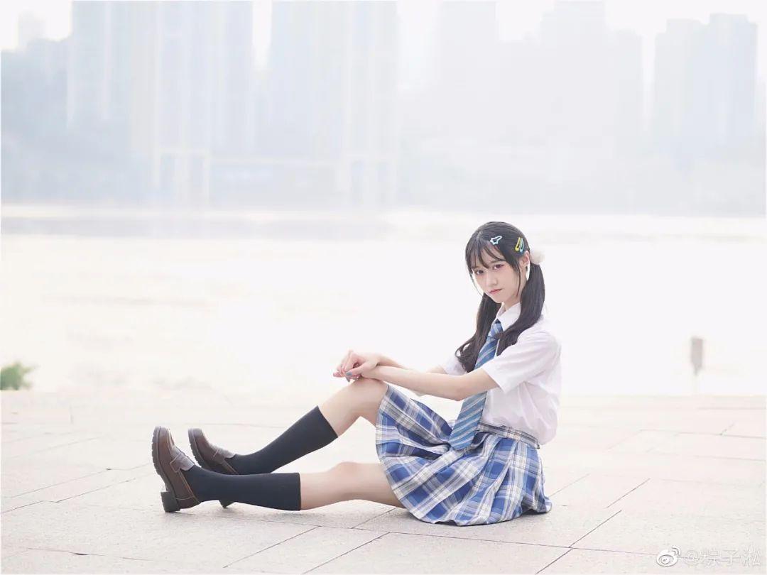 妹子摄影 – JK制服少女的夏日@粽子淞_图片 No.2