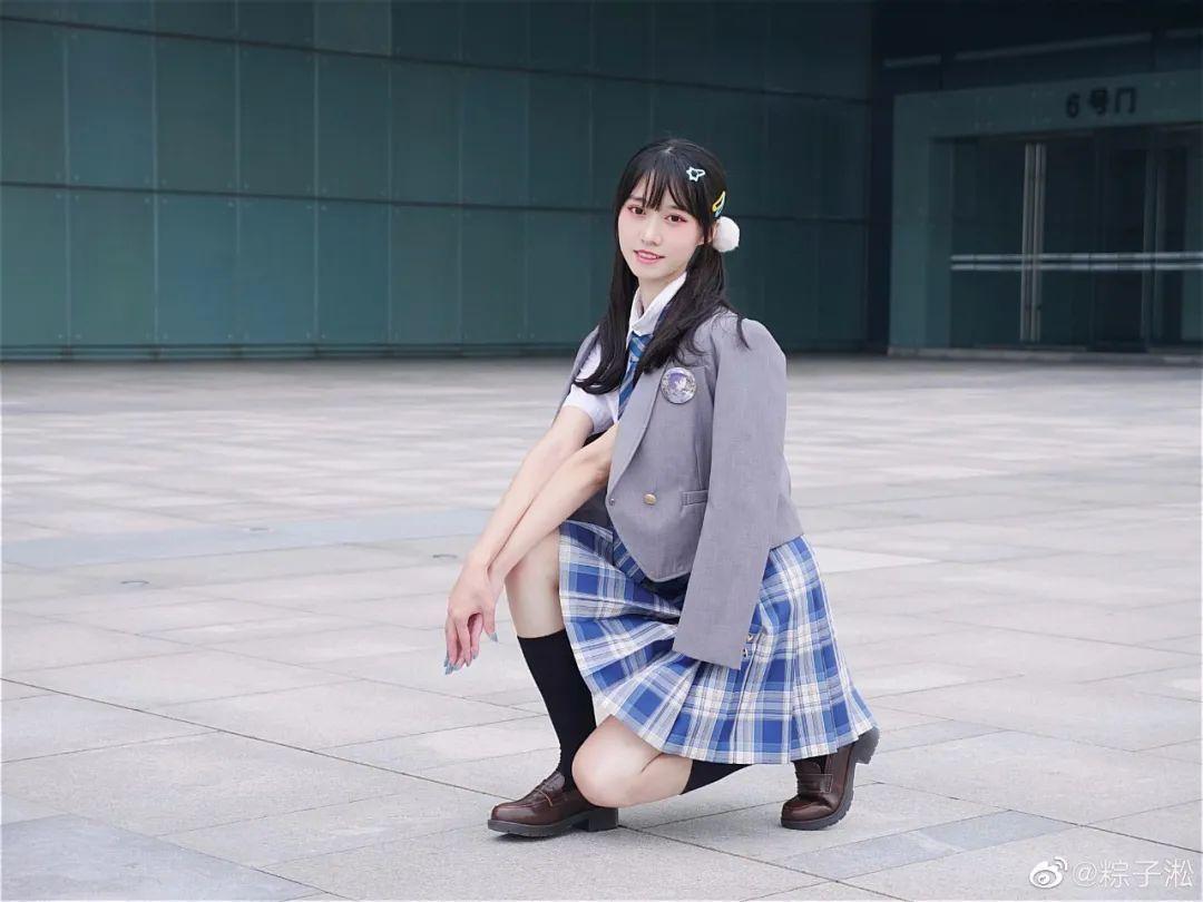 妹子摄影 – JK制服少女的夏日@粽子淞_图片 No.3